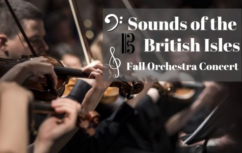 Orchestra Presents Sounds from British Isles in Fall Concert