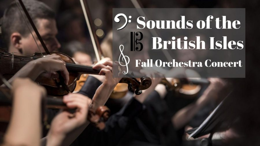 Orchestra performs songs from the British Isles at their fall concert. The vast array of songs was enjoyed by both the students and the audience.