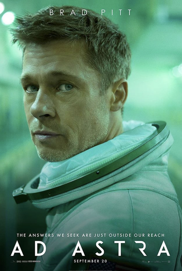 Brad Pitt stars in 'Ad Astra' as the main character Roy McBride, a famous astronaut struggling with his personal relationships. Photo Courtesy of Ad Astra Instagram.