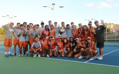 """It's Pretty Incredible"": Varsity Tennis Captures Tenth Consecutive District Title"