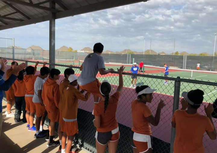 Varsity Tennis Falls to Plano West 10-9 and Concludes Fall Season as Regional Semi-Finalists