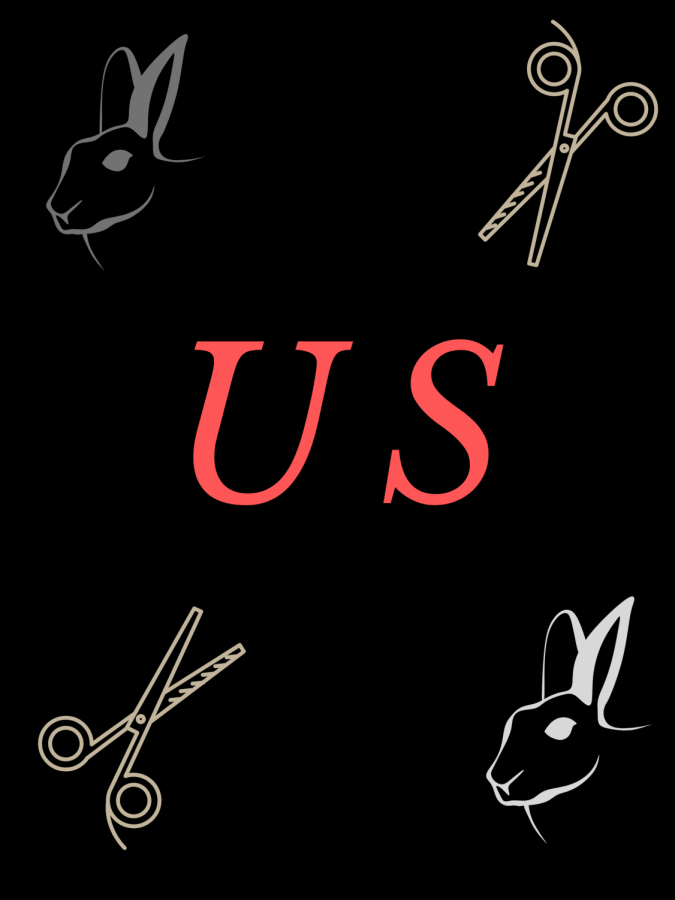 The horror film, 'US', uses classic horror themes and surprising twists to create an engaging feature. Graphic by Shawkin Kabir.