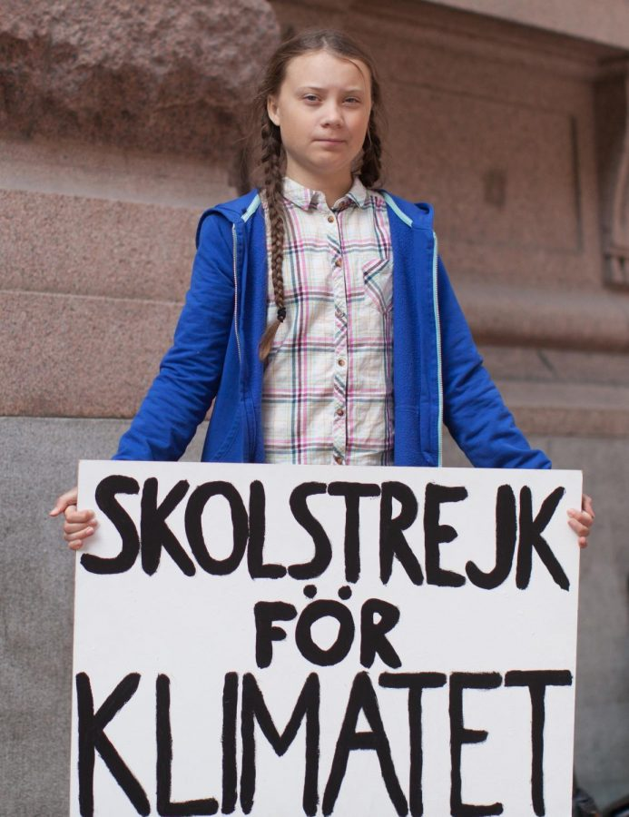 On Aug. 20, 2018, Greta Thunberg sat outside the Swedish Parliament building, holding a sign reading