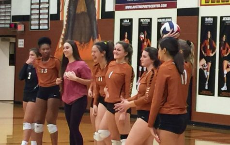 JV Orange Volleyball Takes Down Leander 2-0