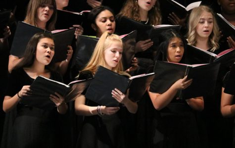 Choir Performs at Region Clinic and Concert