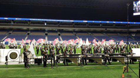 Band Ends Marching Season at BOA San Antonio