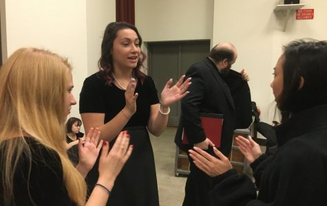 Chamber Choir Performs with UT's Concert Chorale