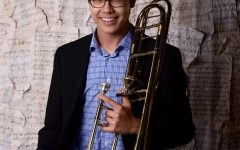 Aaron Slack '20 Earns First Chair Trombone at All-State Competition
