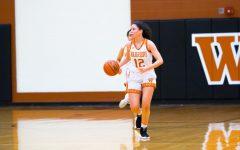 Varsity Girls' Basketball Defeats Cedar Ridge Raiders 55-50