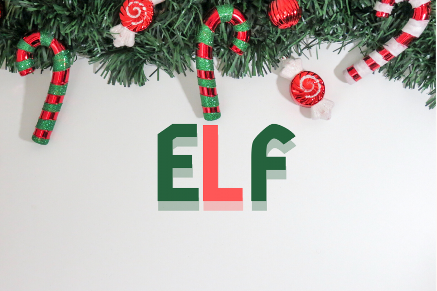 %27Elf%27+features+familiar+faces+such+as+Will+Ferrell+and+Zooey+Deschanel%2C+and+is+directed+by+%27Iron+Man%27%27s+Jon+Favreau.+Graphic+by+Yunoo+Kim.