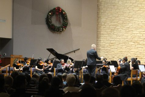 Orchestra Performs at Winter Concert