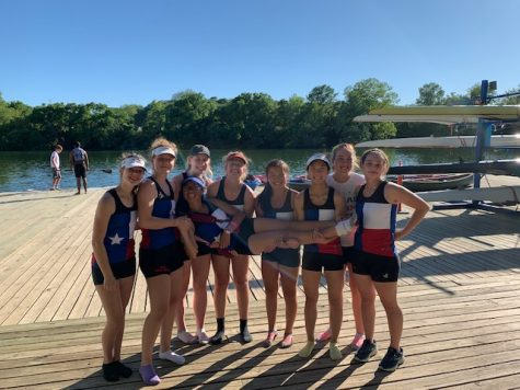Hanna Hoogendam '21 Places in Rowing Regatta