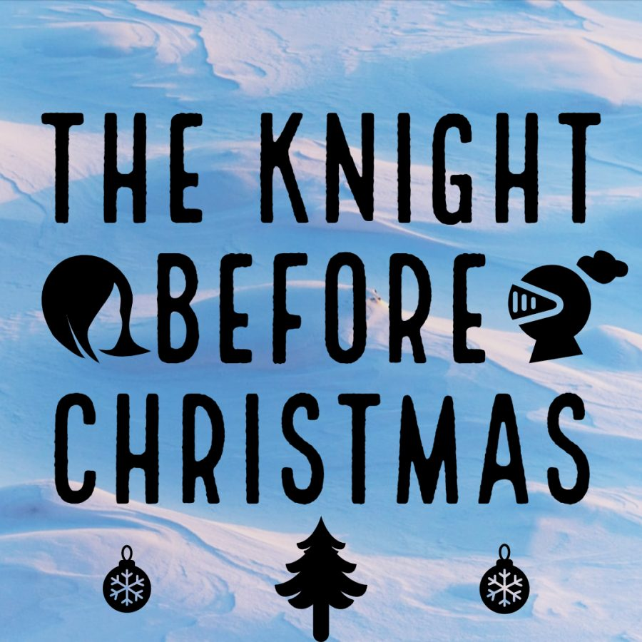 The+Knight+Before+Christmas+is+a+delightful%2C+heartwarming+tale+of+a+Christmas+love+that+transcends+time.+Graphic+by+Anouka+Saha
