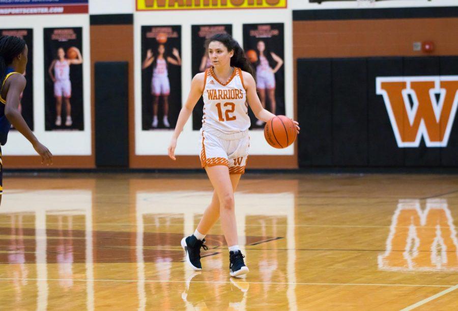 Varsity Girls' Basketball Conquers Stony Point 54-52