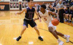 Varsity Boys' Basketball Wins a Nail-Biter vs. Cedar Ridge 36-35