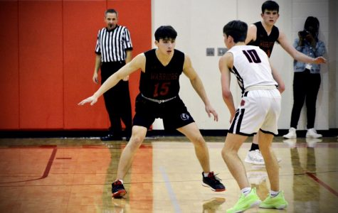 Varsity Boys' Basketball Tops Vista Ridge 63-55