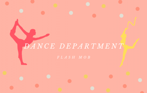 Dance Department Leads Flash Mob