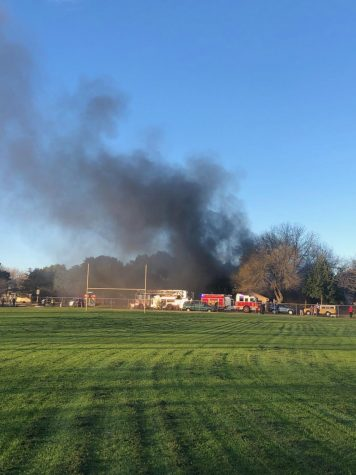 Girls' Lacrosse Team Responds to Fire on School House Lane