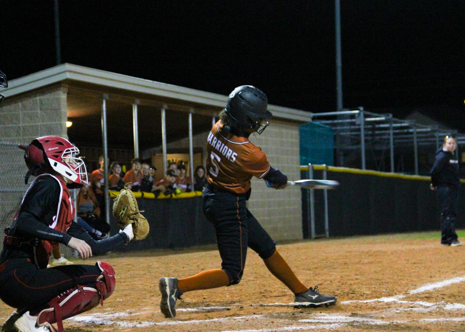 Varsity+Softball+Knocks+Down+Vista+Ridge+7-5+in+District+Opener