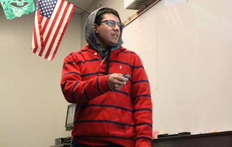 Spanish Students Present Ted Talks to Classes