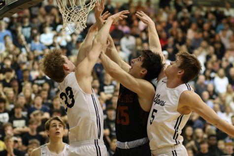 Varsity Boys' Basketball Triumphs Over Vandegrift, Moves On to Regional Semifinals