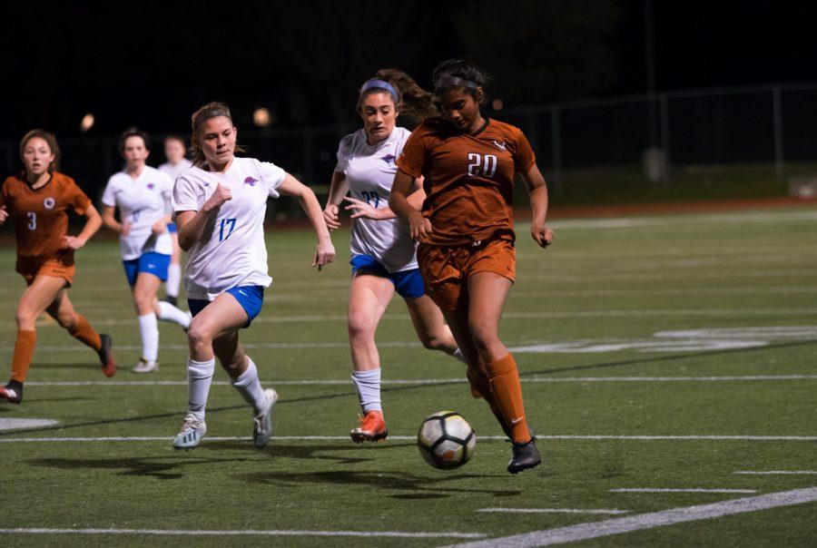 GALLERY: Varsity Girls' Soccer Thrashes Leander 6-1