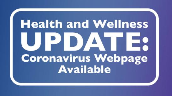RRISD Addresses Coronavirus Concerns