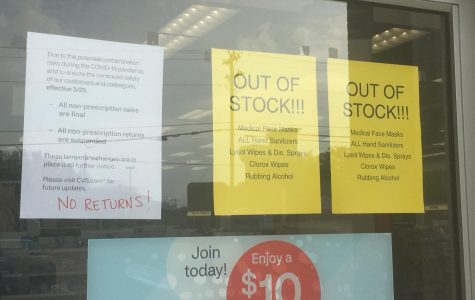 Walgreens and many other stores have temporarily closed or run out of basic needs.