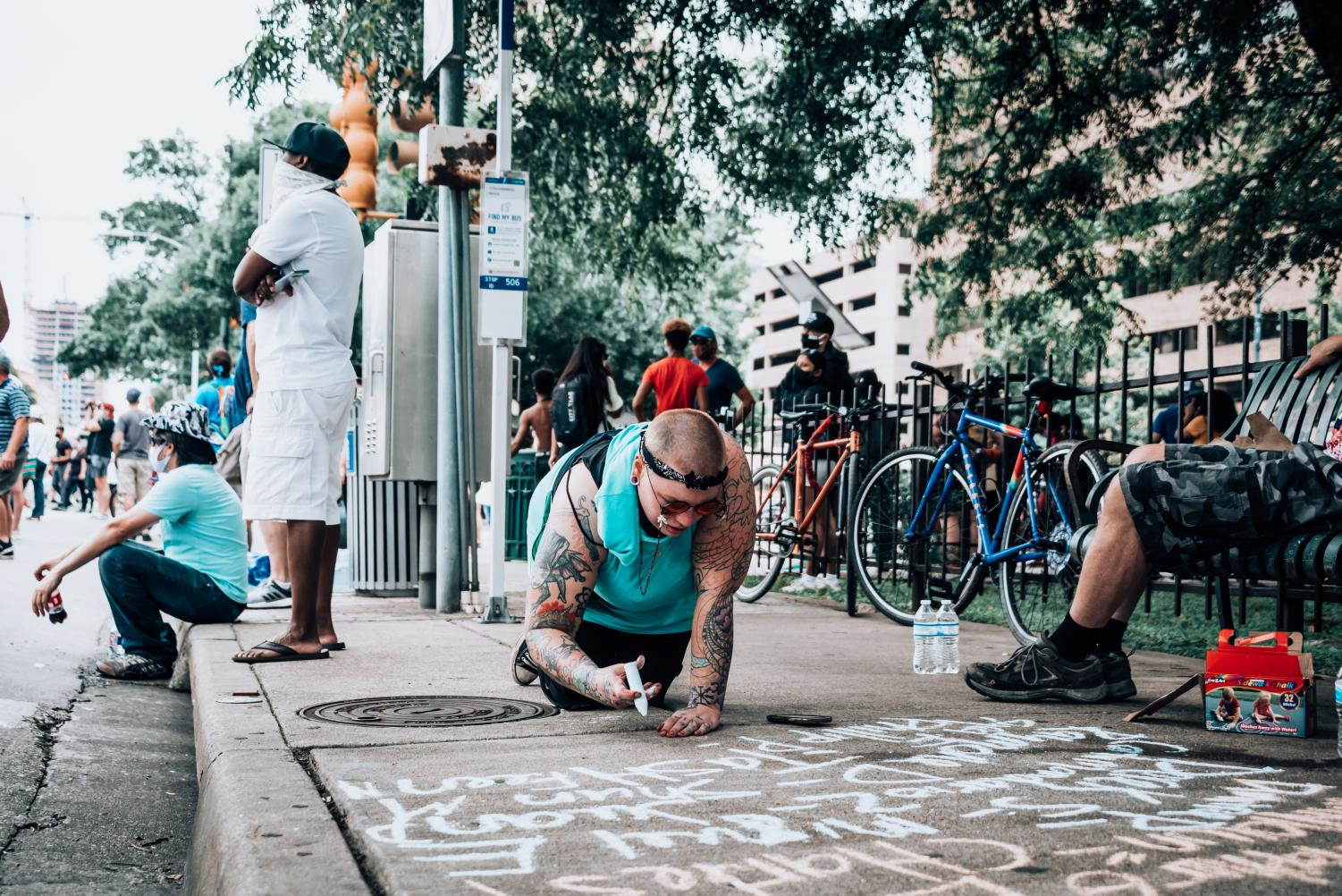 What+Do+People+Think+of+The+Austin+BLM+Protests%3F