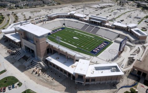 Along with the new plan for the upcoming athletics season, the Texas University Interscholastic League (UIL) released some guidelines that schools across Texas must follow. As part of the new rules issued, stadiums, such as Eagle Stadium in Allen, will be limited to 50% capacity.