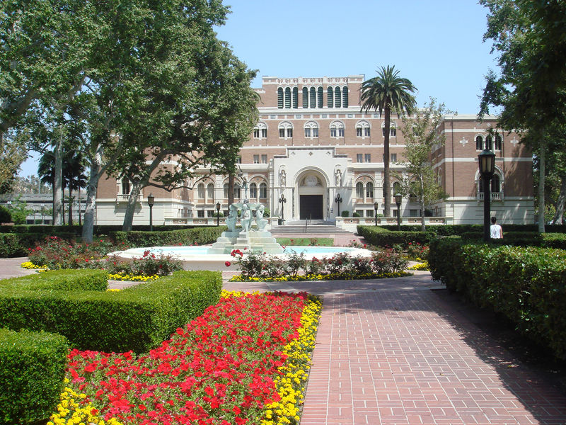 University of Southern California's library, named for Edward Doheny.