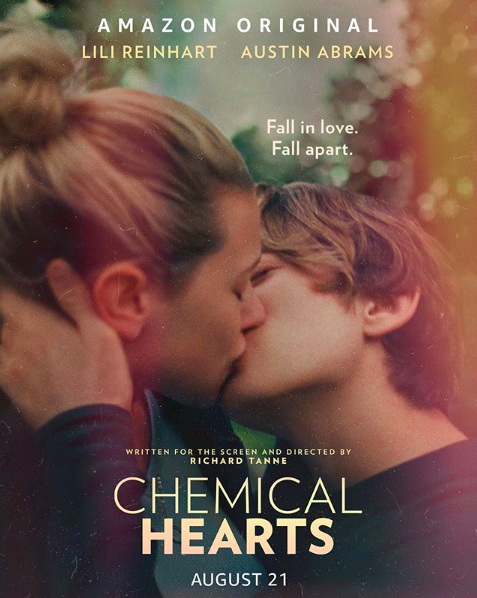 Lili Reinhart and Austin Abram star in a moving new romance film titled 'Chemical Hearts'. Photo Courtesy of @chemicalhearts