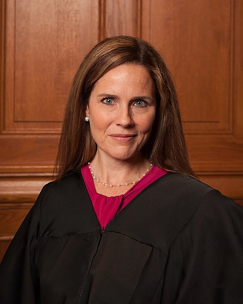 Amy Coney Barrett poses for her law school graduation picture. Photo courtesy of Rachel Malehorn.