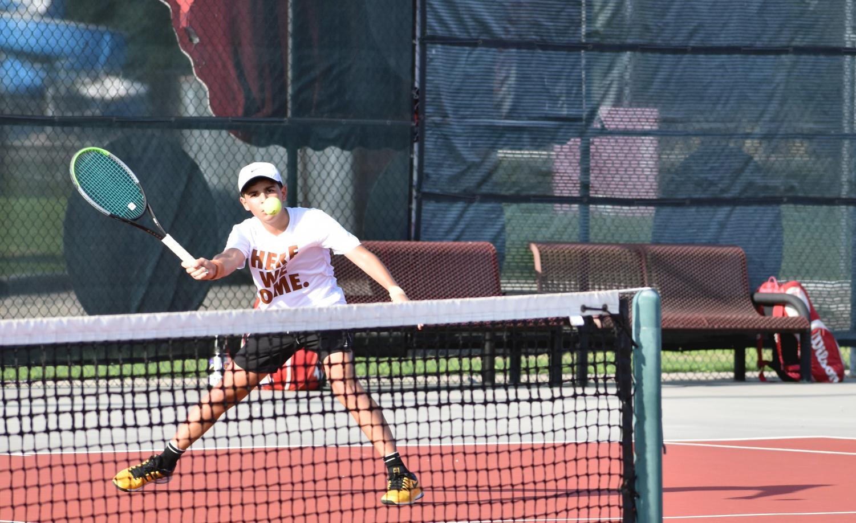 Varsity+Tennis+Lands+Commanding+11-2+Victory+Over+Round+Rock+in+Fall+Season+Opener