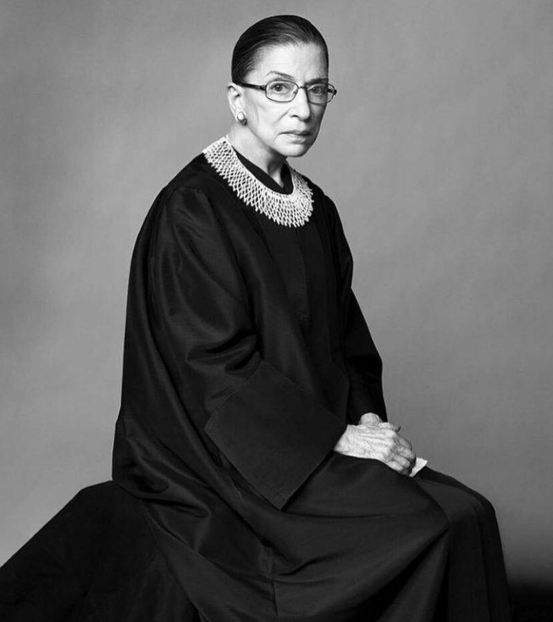 A visionary and globally recognized figure, Justice Ruth Bader Ginsburg served as a prominent figure in the pursuit of equality. Photo Courtesy of @nytmag