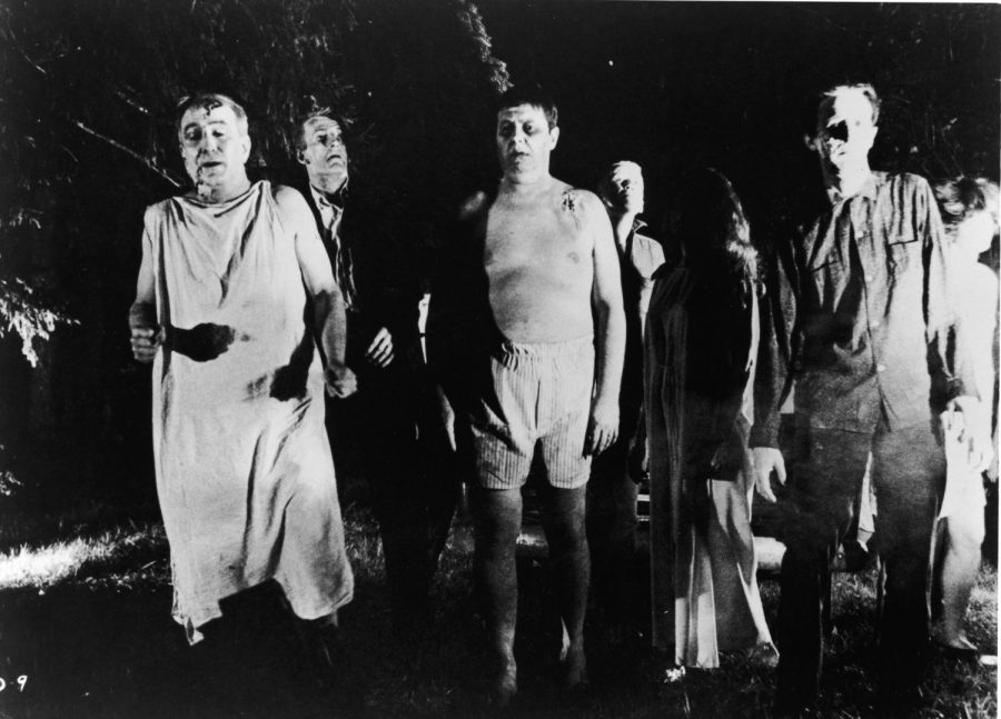 The zombies in Romero's first film were almost completely different than previous