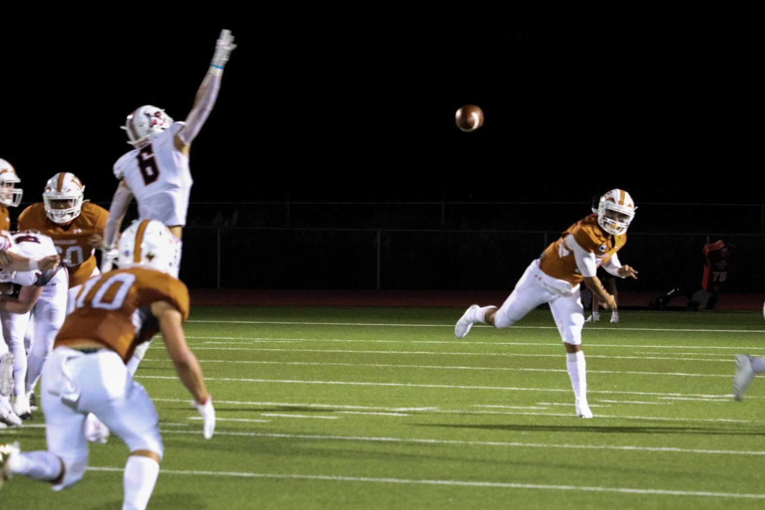 GALLERY%3A+Varsity+Football+Shellacked+by+Lake+Travis+63-20