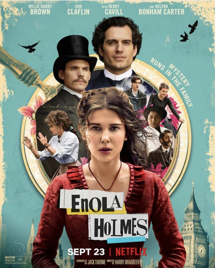 The highly anticipated Netflix film 'Enola Holmes' premiered on Sept.23 with positive fan and critic reviews resounding at its gorgeous scenes and powerful storyline. Photo courtesy of @milliebobbybrown