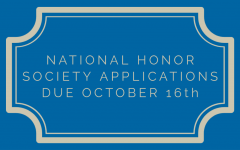 National Honor Society Application Deadline Approaches