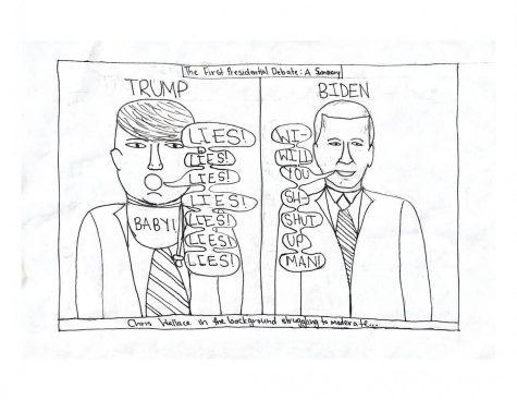 Comic: The First Presidential Debate