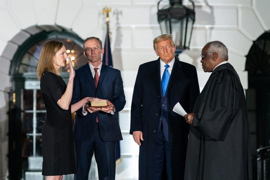 The Swearing in Ceremony of Amy Coney Barrett