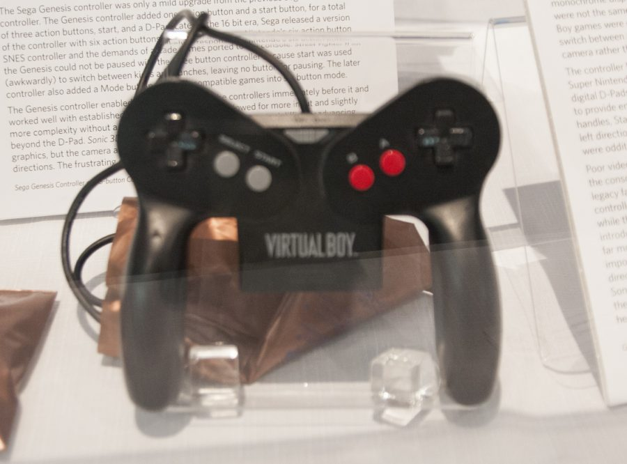 While the Virtual Boy controller broke new ground, it also broke your hands. Photo Courtesy of Ben Wilhelm