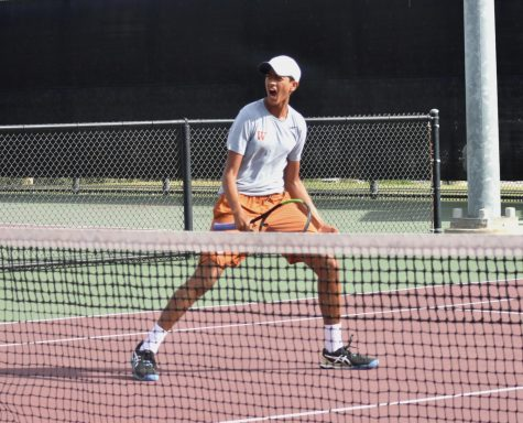 Varsity Tennis Delivers Again in 10-3 Victory Against Houston Memorial, Vaulting to State Finals