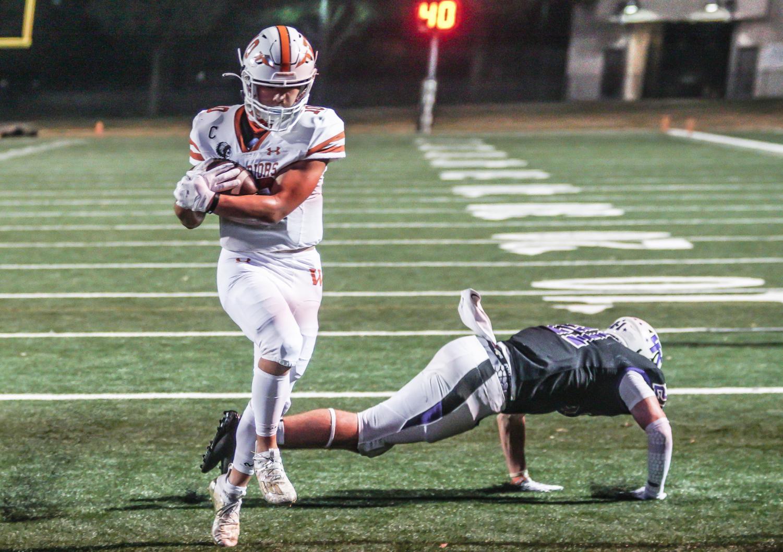 Varsity+Football+Falls+to+Cedar+Ridge+63-20