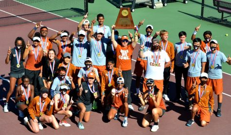 Varsity Tennis Reclaims State Title 10-3 over Plano West to Conclude Momentous Fall Season