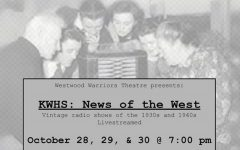 Westwood Theatre held a production of three radio plays from Wednesday, Oct. 28 to Friday, Oct. 30. Photo courtesy @wwdramaclub