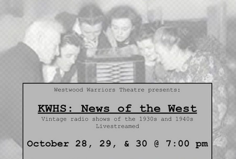 Westwood+Theatre+held+a+production+of+three+radio+plays+from+Wednesday%2C+Oct.+28+to+Friday%2C+Oct.+30.+Photo+courtesy+%40wwdramaclub+