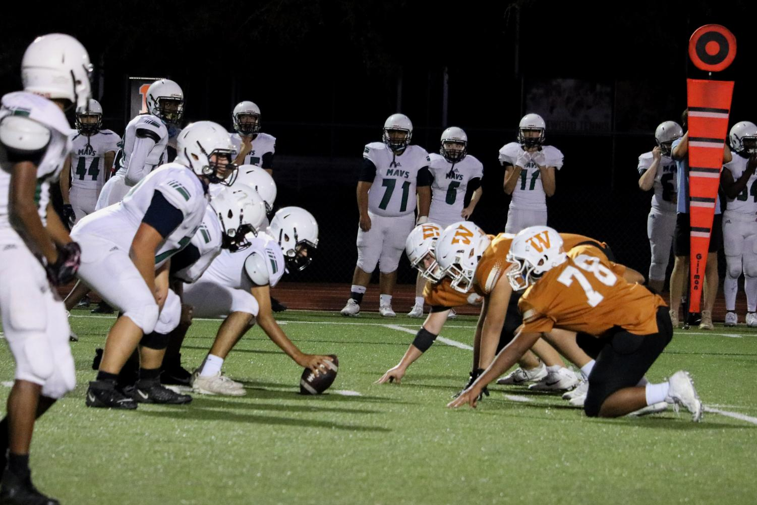 GALLERY%3A+Freshman+Football+Blanked+by+McNeil+27-0