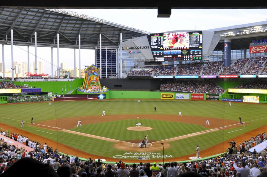 The+Miami+Marlins+of+Major+League+Baseball+%28MLB%29+became+the+first+North+American+sports+franchise+to+hire+a+female+general+manager+with+their+hiring+of+Kim+Ng.+In+addition+to+being+the+first-ever+female+GM%2C+she+is+also+the+first+Asian-American+GM+in+MLB+history.+Photo+courtesy+of+Wikimedia+Commons.