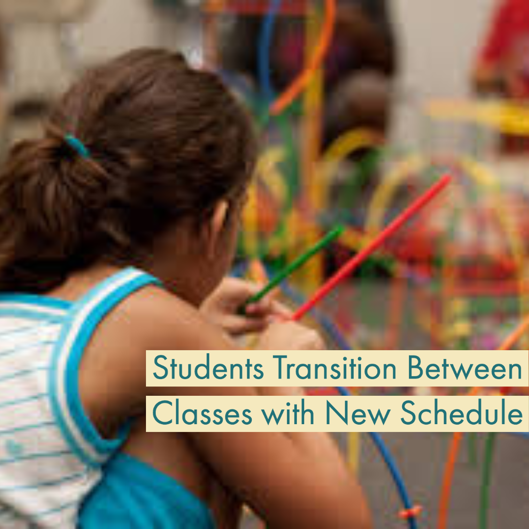 Students Change Routines With New Bell Schedule